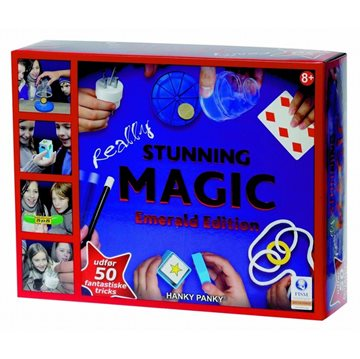 Stunning Magic 50 tricks +8år 8x30x24 cm