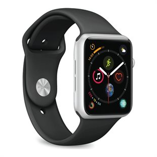 Puro, Apple Watch rem, 38-40mm, S/M & M/L, sort