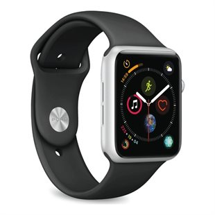 Puro, Apple Watch rem, 42-44mm, S/M & M/L, sort
