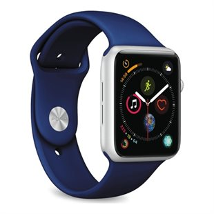 Puro, Apple Watch rem, 42-44mm, S/M & M/L, mørkeblå