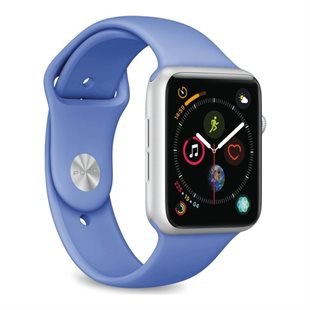 Puro, Apple Watch rem 42-44mm, S/M & M/L, Forment Blue
