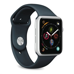 Puro, Apple Watch rem, 42-44mm, S/M & M/L, Navy blå