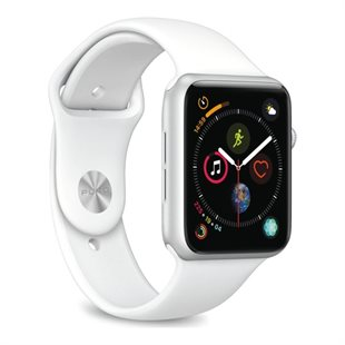 Puro, Apple Watch rem, 42-44mm, S/M & M/L, hvid