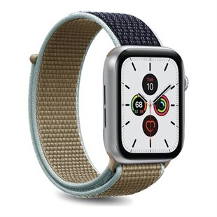 Puro, Apple Watch-rem, 42-44 mm, S/M og M/L, nylon, army