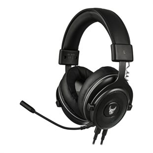 L33T, HUGINN GAMING 7.1 HEADSET W. MIC & LED LIGHT