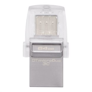 Kingston, 64GB DT microDuo 3C, USB 3.0/3.1 + Type-C flash