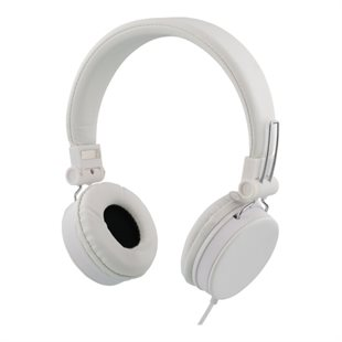 Streetz, Stereo Headset HL-227, with Microphone, White