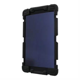 Deltaco, Cover silicon 7-8 Tablets, Stand, Black