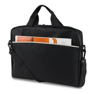 Deltaco, Notebook Bag, up to 14, Nylon, Black