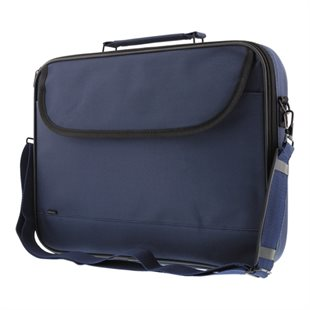 Deltaco, Notebook Bag Polyester, 14, 2 pockets, Blue