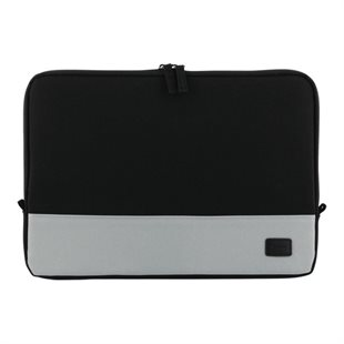Deltaco, Laptop Sleeve, op til 12, polyester, sort