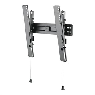 Deltaco, Ultra-Slim Tilt Wall Mount, 32-55, 35 kg, Black