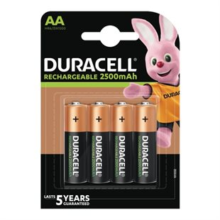Duracell, Recharge Ultra AA 2500mAh, 4pk - Foropladt