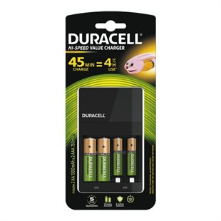 Duracell, Expert Charger 15Min AA/AAA+4xRecharge Plus AA