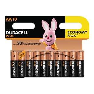 Duracell, Plus Power AA, CP 10 pack