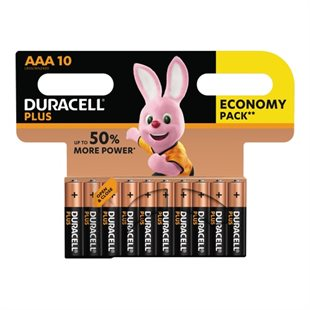 Duracell, Plus Power AAA, CP 10 pack