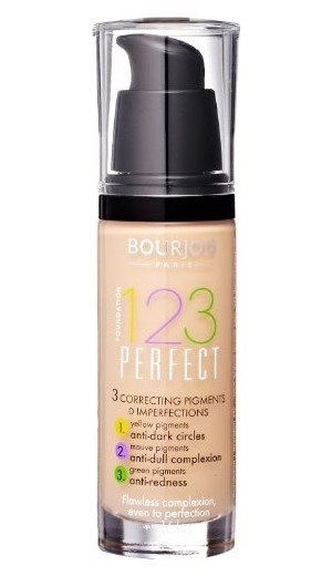 Bourjois 123 Perfect Foundation 53 Light Beige 30ml