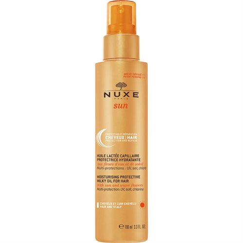 Nuxe Sun Moisturising Protective Milky Oil 100ml For Hair