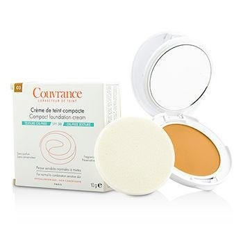 Avène Couvrance Compact Foundation Cream For Normal To Combination Sensitive Skin 10G - Colour: 1.0 Porcelain