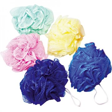 Bath Sponge 50g Colours Asstd 12cm