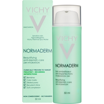 Vichy Normaderm Beautifying Anti-Blemish Care 50ml 24H hydration