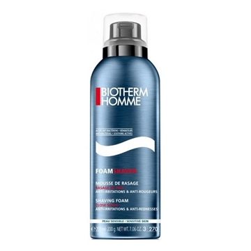 Biotherm Homme Shaving Foam Close Shave 200ml Anti-Irritations & Anti-Rednesses - Sensitive Skin