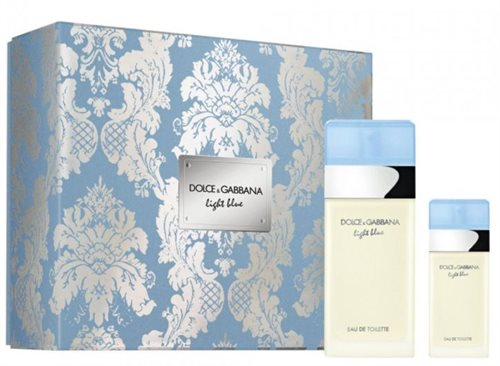 D&G Light Blue Pour Femme Giftset 125ml EDT Spray 100ml/EDT Spray 25ml