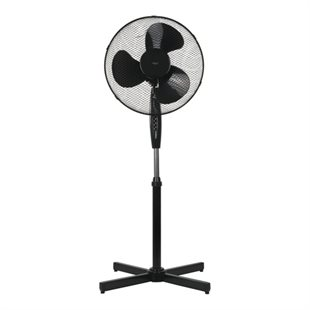 NordicHCul, FT-531 Floor fan, 410mm, 3 speed, 50W, Black