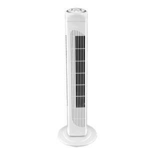 NordicHCul, FT-514 Tower fan with 3 speeds, 76 cm, White
