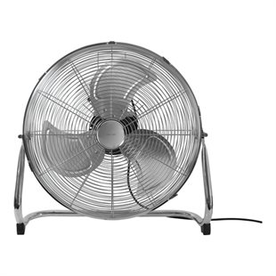 NordicHCul, FT-563 Floor/table stand fan, 45 cm metal, Chrome