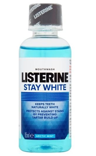 Listerine Mouthwash Stay White Travel Size 95ml
