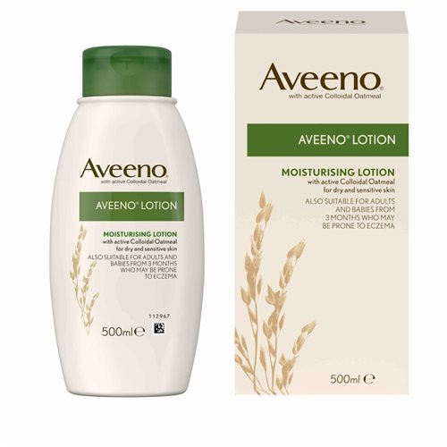 Aveeno Moisturising Lotion 500ml with active Colloidal Oatmeal
