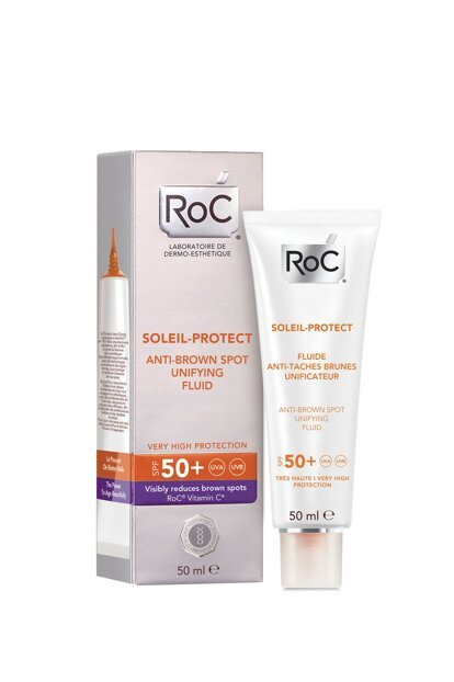 ROC Soleil-Protect Anti-Brown Spot Unifying Fluid SPF50+ 50ml