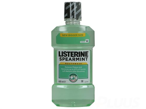 Listerine Mouthwash - Spear Mint 600ml