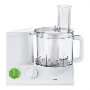 Braun, 3205-FP3020WH Food processor. White
