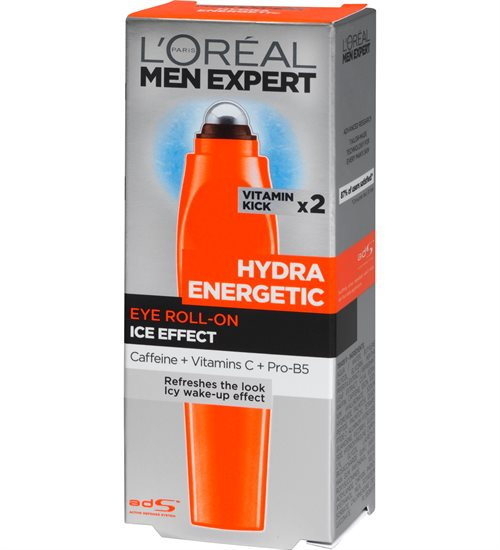 L'Oreal  Men Expert Hydra Energetic Eye Roller 10ml