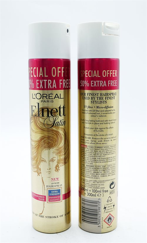 Elnett Hairspray Coloured Hair Ex Strength +50% Fr 300ml