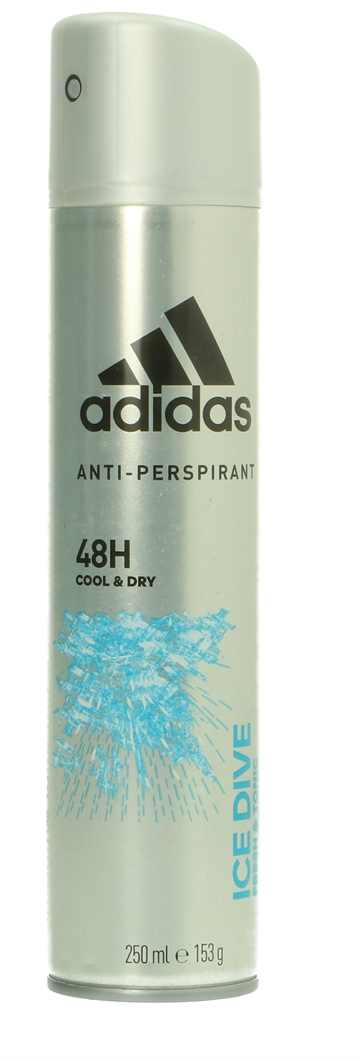 Adidas Deo Spray - Ice Dive 48H Cool & Dry 250 ml<br />