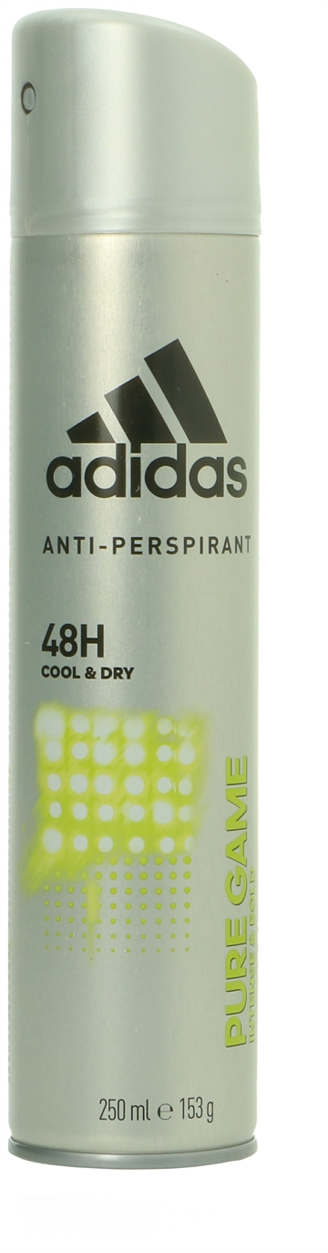 Adidas Deo Spray - Pure Game 48H Cool & Dry 250 ml<br />