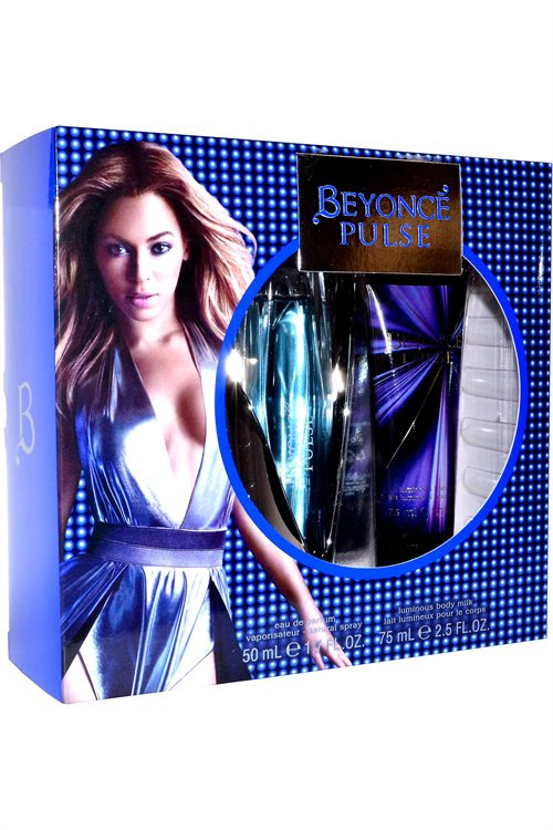 Beyoncé Pulse Eau De Parfum 50ml & Luminous Body Milk 75ml