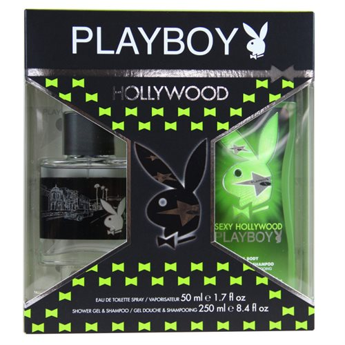 Playboy Hollywood Pack Eau De Cologne & Shower Gel 50ml + 250ml