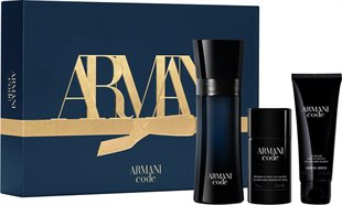 Armani Code Pour Homme Giftset Edt Spray 125ml - Deo Stick 75ml - Shower Gel 75ml