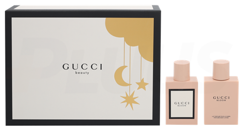 Gucci Bloom Giftset 150ml EDP Spray 50ml/Body Lotion 100ml