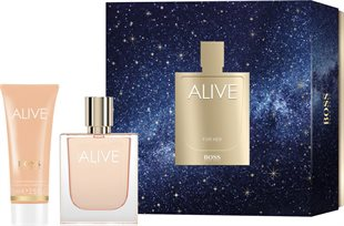 Hugo Boss Alive Giftset 125ml EDP Spray 50ml/Body Lotion 75ml