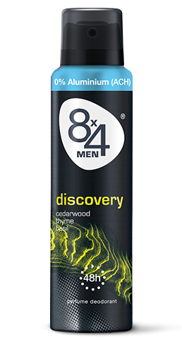8x4 Deo Spray 150ml Discovery for Men