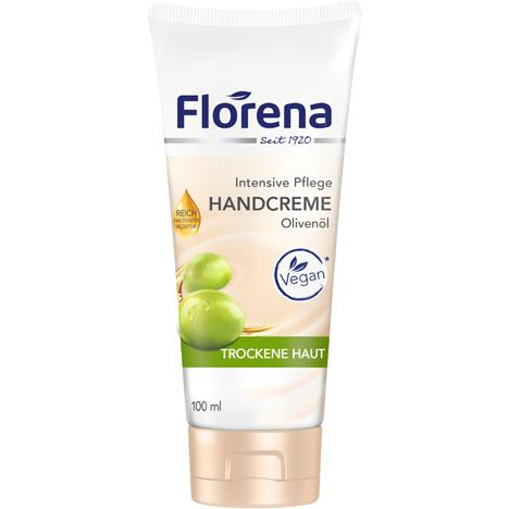 Florena Hand Cream 100ml Olivenöl Tube