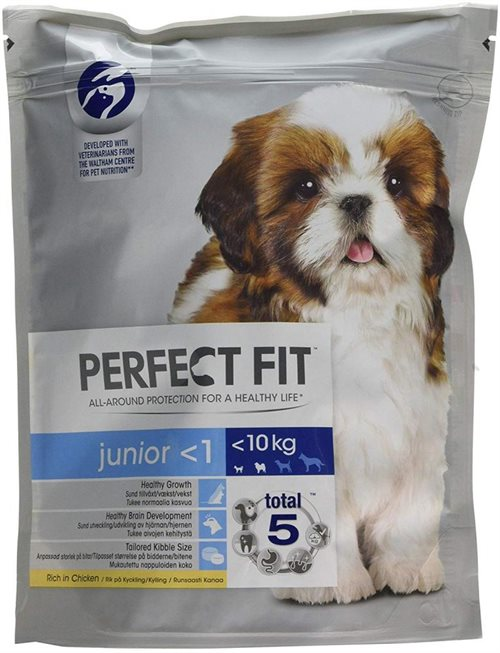 Perfect Fit Dog Junior Kylling 825 g