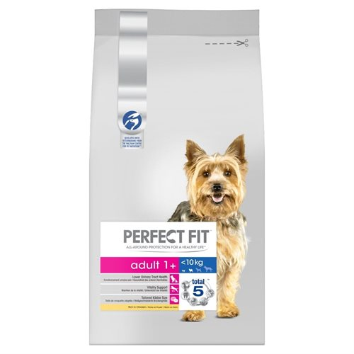 Perfect Fit Dog Adult Kylling <10kg 825 g