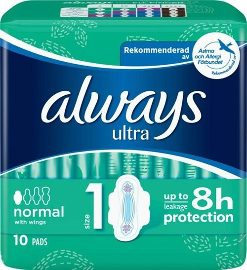 Always Ultra Normal pads 14 stk