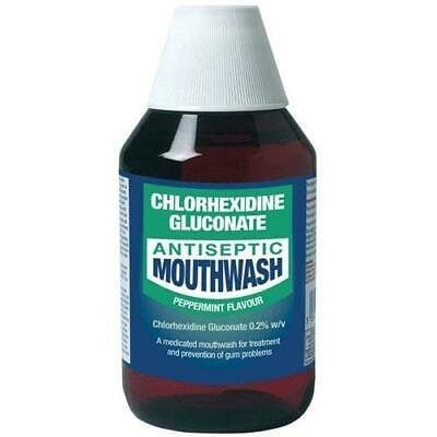 Chlorexidine Mouthwash Peppermint  300ml